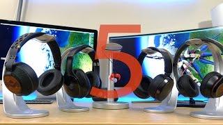 My Top 5 Favorite Bluetooth Headphones!