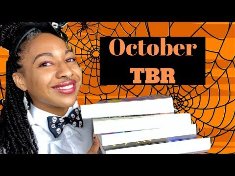 AMBITIOUS October TBR! SFF, horror, dystopian