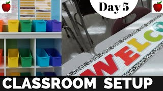 Classroom Setup Day 5 High School Teacher Classroom Tour Day in the Life of a High School Teacher