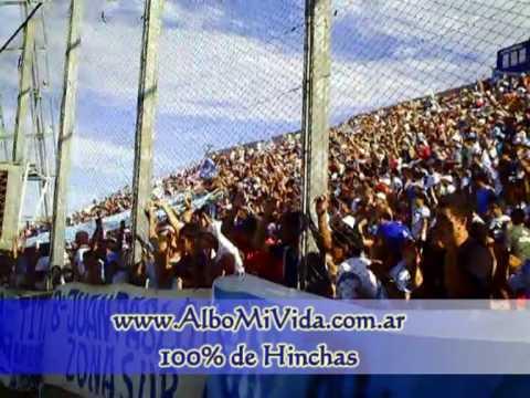 """""""CN 0 - Gimnasia y Tiro 1 - recibimiento + hinchada 2"""" Barra: La Dale Albo • Club: Gimnasia y Tiro"""