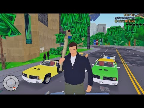 GTA 3 with Nintendo 64 Graphics (GTA 3 Lowest Settings)