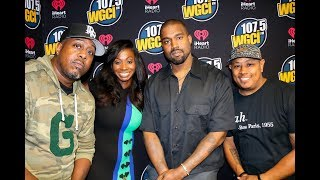 The Morning Show 107.5 WGCI - Kanye West Finally Comes Home To Chicago!