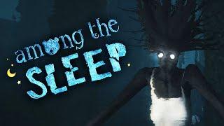 Among the Sleep #4 ПОЙМАЛ ЖУТКИЙ МОНСТР Детская страшилка Хоррор игра МАЛЕНЬКАЯ ДЕВОЧКА ИЩЕТ МАМУ