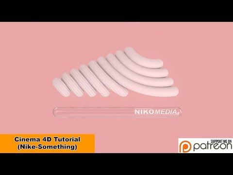 Nike-Something (Cinema 4D – Tutorial)
