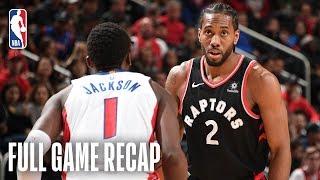 RAPTORS vs PISTONS | Toronto & Detroit Go Down To The Wire | March 17, 2019