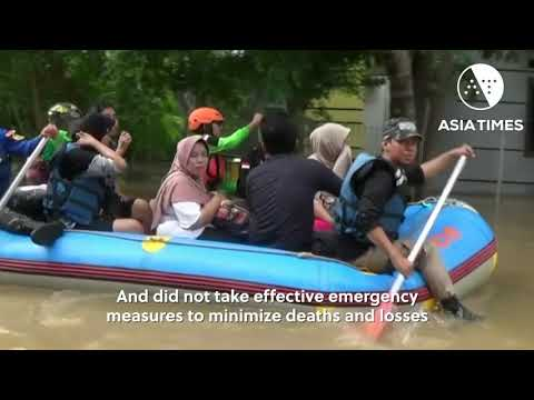 Flood-hit Jakarta residents sue over deadly disaster