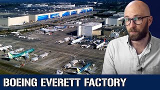 The Boeing Everett Factory: The Biggest Building in the World (By Far)