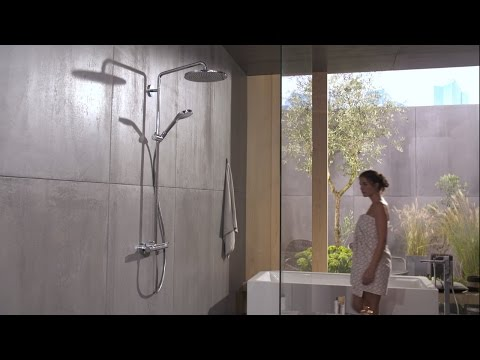 Hansgrohe Croma Select S 280 regendoucheset thermostatisch incl handdouche chroom