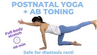 Postnatal Yoga with Postpartum Ab Workout