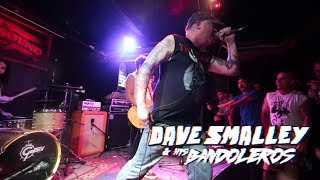 DAVE SMALLEY & HIS BANDOLEROS - I'm Gonna Be (500 miles) (Down By Law) @Rocksound, Barcelona