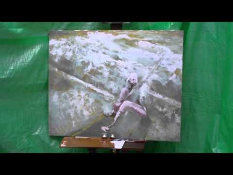 Watch A Blank Canvas Turn Into Final Fantasy XIII's Lightning
