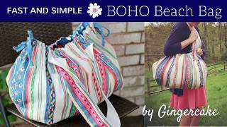 FAST And SIMPLE Boho Beach Bag
