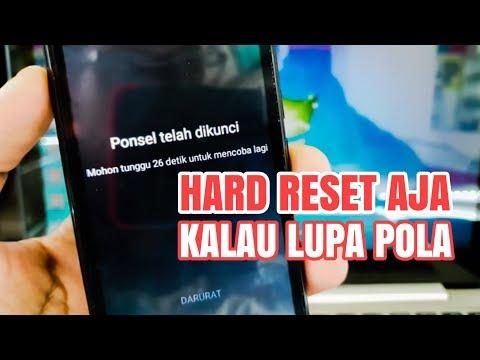 Hard Reset Advan S40 LTE, Mengatasi Lupa Pola Kunci Layar
