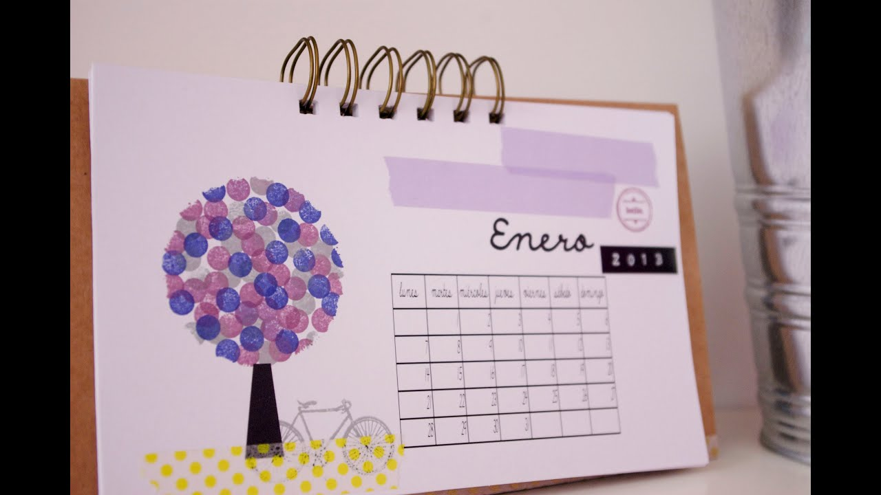 Tutorial: Calendario 2013 - enero
