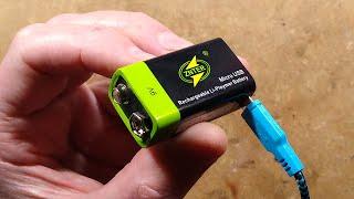 Inside a Znter lithium 9V battery.