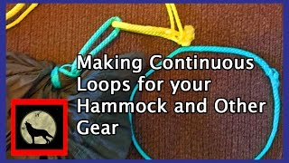 🔴LIVE Making Amsteel Continuous Loops For Your Hammock, Tarp And Outdoor Gear