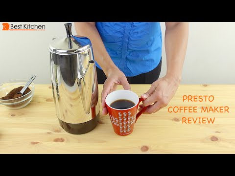 Presto 12-Cup Stainless Steel Coffee Maker Review