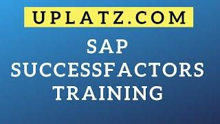 SAP SuccessFactors Training