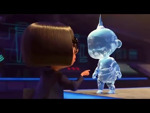 Incredible 2 - Edna & Jack-Jack Deleted Scenes