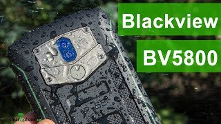 Смартфон Blackview BV5800 Green от компании Cthp - видео 1