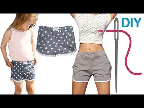 """Kurze Hose nähen für Anfänger – DIY Hot Pants/Shorts """"MINA"""""""
