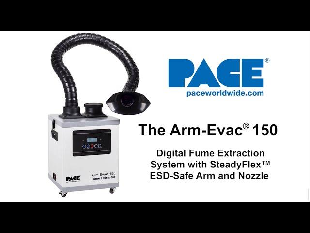 Arm-Evac 150 Digital Fume Extraction System with SteadyFlex Arm
