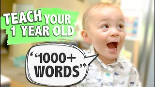 HOW TO TEACH A BABY TO TALK | Speech Activities for Babies & Toddlers | Tips for Parents | CWTC