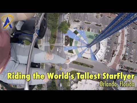 Taking on the World's Tallest StarFlyer on International Drive in Orlando