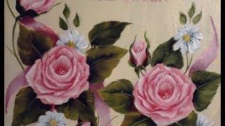 Como pintar em acrílico com técnica americana
