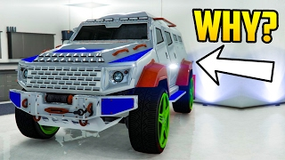 GTA Online: THE UGLY CAR CUSTOMIZATION CHALLENGE - The Worst of the Worst Looking Vehicles