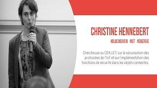 Big Block Theory - Blockchain et Energie par Christine Hennebert