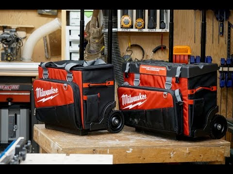 """Milwaukee 18"""" and 24"""" Rolling Bag Review"""
