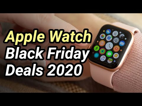 Best Black Friday Apple Watch Deals 2020