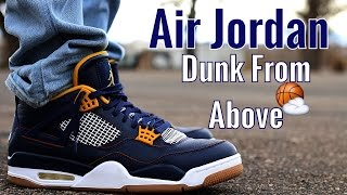"""""""Dunk From Above"""" Air Jordan 4 W/On Foot Review 