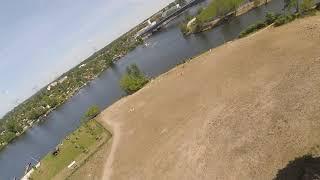 KROZone FPV Freestyle Training, Berlin, Freestyle Quadcopter, Spit-S training, Gaps