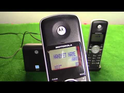Motorola Dual-Handset Dect 6.0 Telephone | Model L302 | First Look