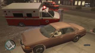 Grand Theft Auto 4 Укуренный фельдшер и драка)