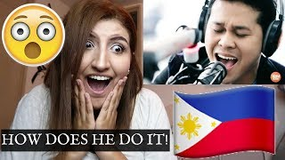 Reacting To Marcelito Pomoy Sings Power Of Love LIVE On Wish 107.5 BUS