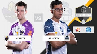 [PT-BR] Vivo Keyd vs. CNB   Superliga ABCDE 2018 - Semana 1 [JOGO 1]