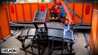 ELKON Concrete Batching Plants Production Technology