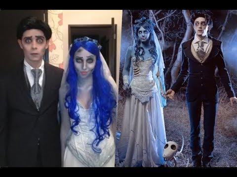 Disfraces de la película el cadáver de la novia