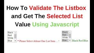 listbox get selected item - मुफ्त ऑनलाइन वीडियो