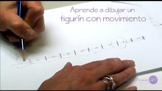 Figurín de Moda Parte 1 - Aprende a dibujar un figurín con movimiento