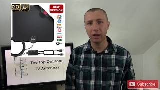 The Top 3 Outdoor TV Antennas from an Installer