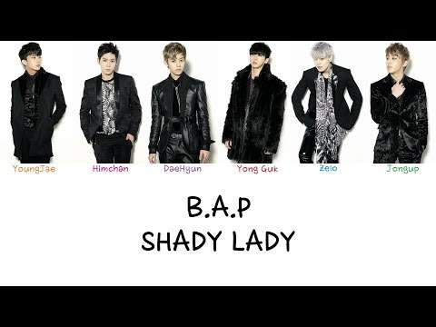 B.A.P - Shady Lady (Color coded lyrics Han|Rom|Eng)