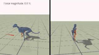 Locomotion Skills for Simulated Quadrupeds
