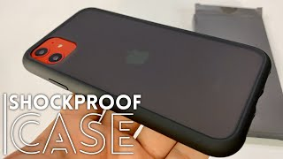 Miracase Translucent Matte Black Shockproof iPhone 11 Case Review