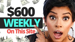Earn $600 A Week With This Free Website | Marissa Romero