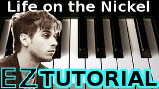 FOSTER THE PEOPLE - Life on the Nickel - PIANO TUTORIAL Video (Learn Online Piano Lessons)