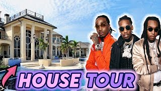 MIGOS | House Tour 2020 | Inside Quavo, Offset & Takeoff's Mansions